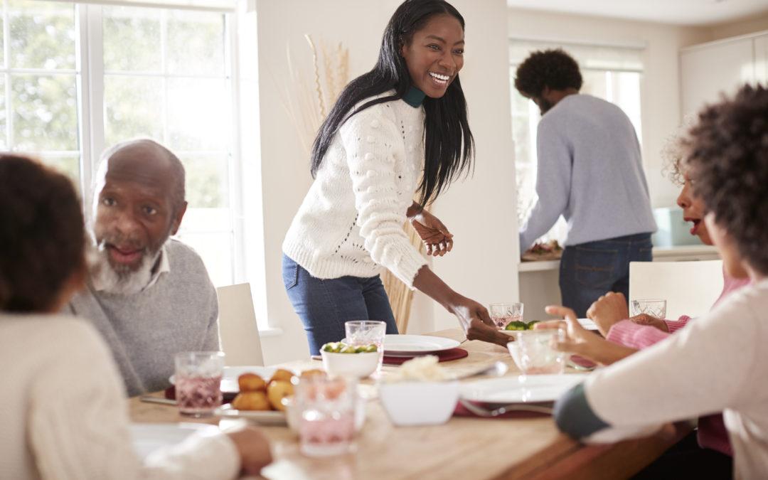 Hosting A Family Dinner